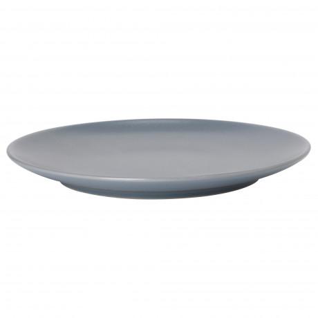 Тарелка ДИНЕРА серо-синий фото 0