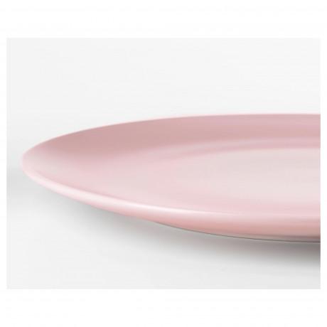 Тарелка ДИНЕРА светло-розовый фото 2