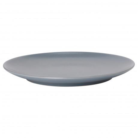 Тарелка десертная ДИНЕРА серо-синий фото 0
