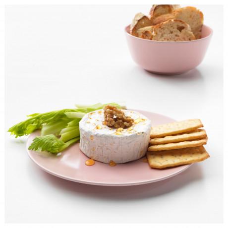 Тарелка десертная ДИНЕРА светло-розовый фото 2
