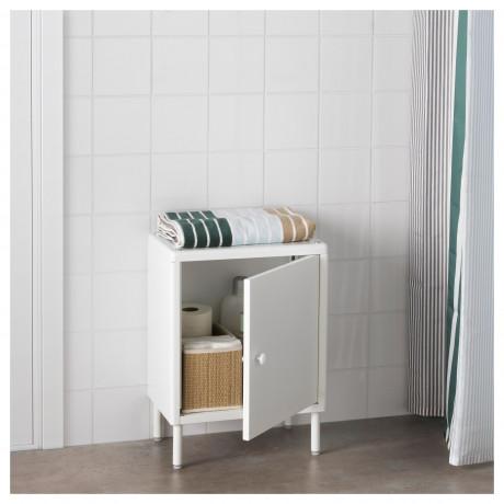 Шкаф с дверью ДИНАМ белый фото 5