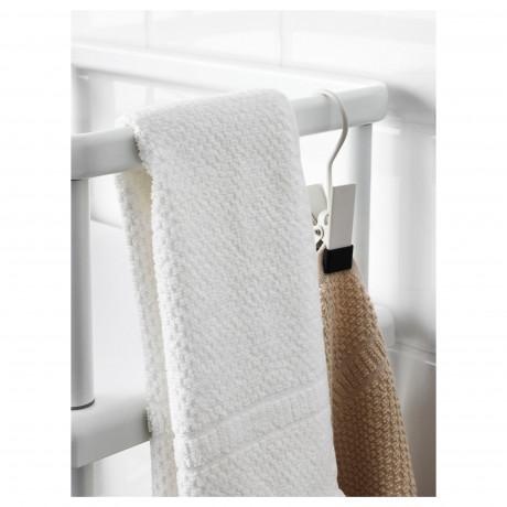Стеллаж с вешалкой д/полотенец ДИНАМ белый фото 4