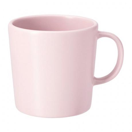 Кружка ДИНЕРА светло-розовый фото 0