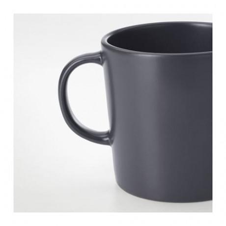 Кружка ДИНЕРА темно-серый фото 1