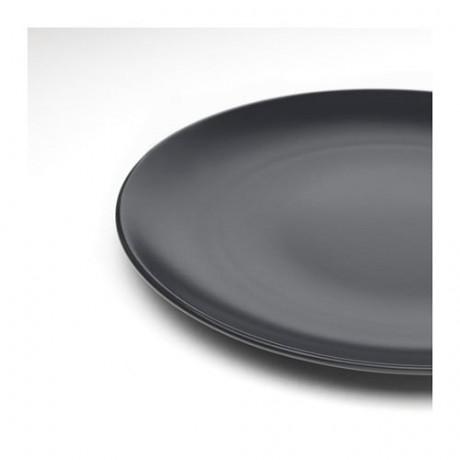 Тарелка ДИНЕРА темно-серый фото 4