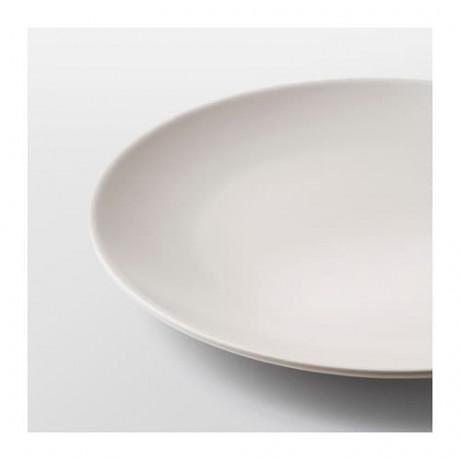Тарелка десертная ДИНЕРА бежевый фото 0