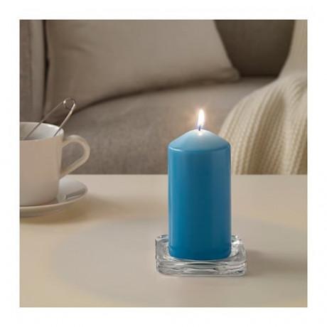 Неароматич свеча формовая ДАГЛИГЕН синий фото 4