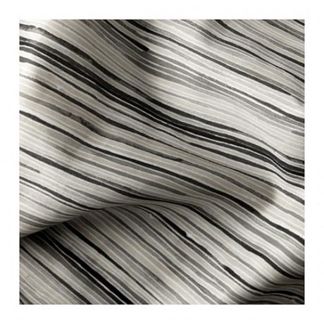 Гардины, 1 пара ДАГРУН белый, серый фото 2
